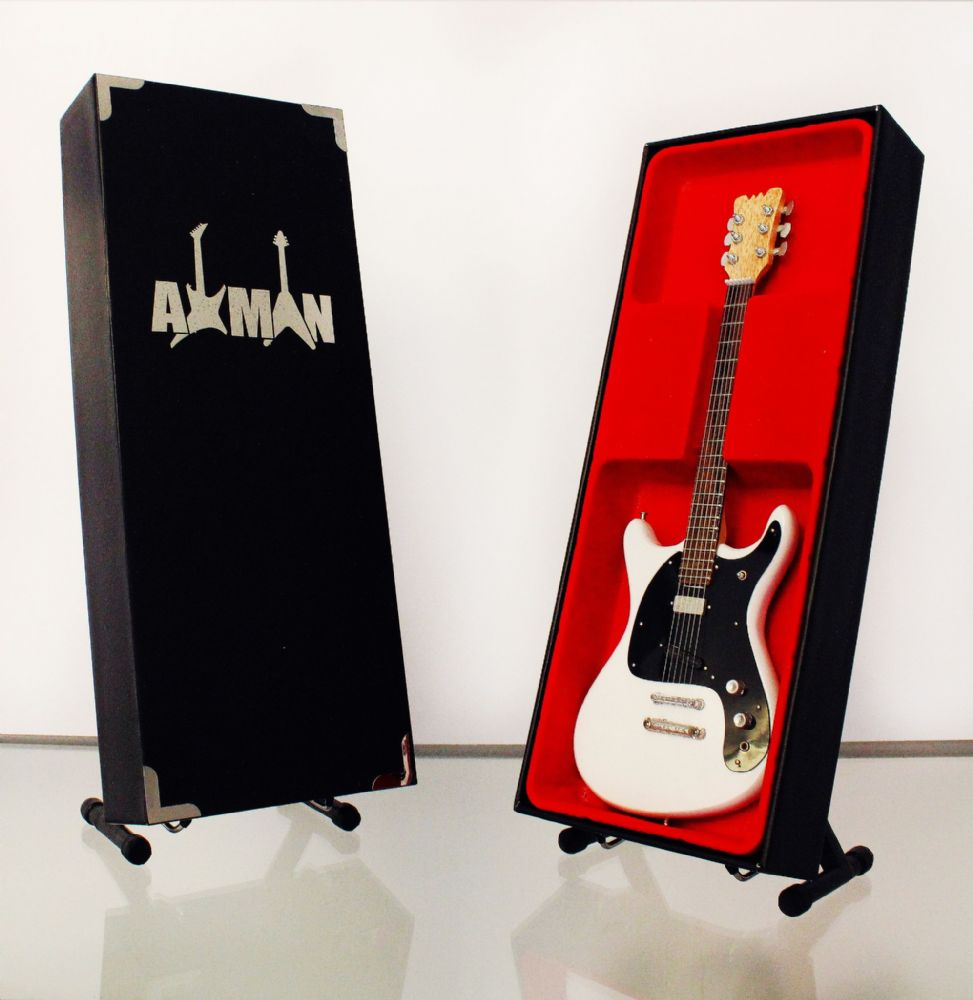 (Ramones) Johnny Ramone: Ventures II - Miniature Guitar Replica (UK Seller)